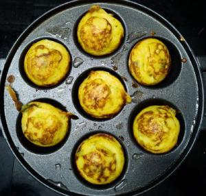 gunthaponganalu cooked